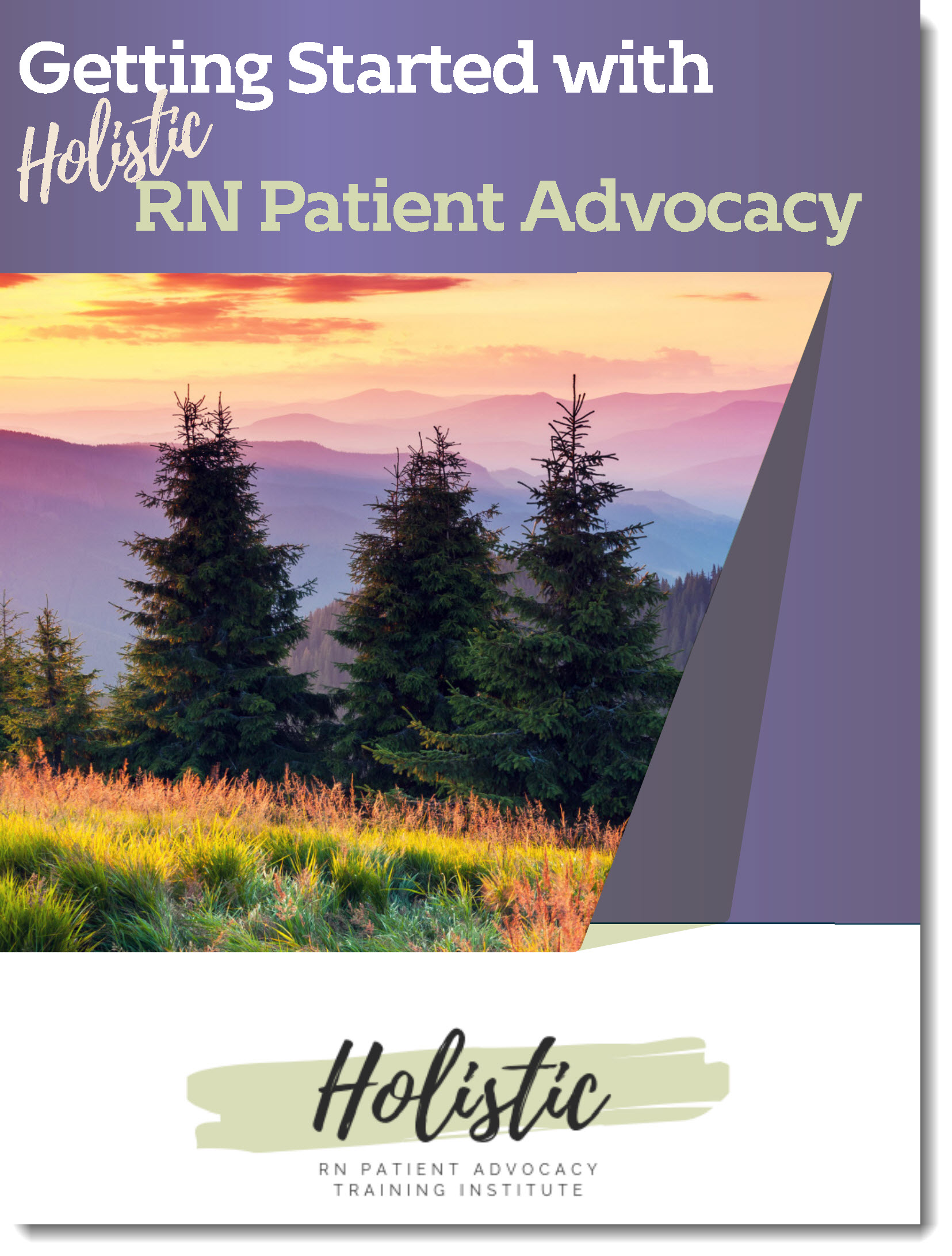 etting Started in Holistic RN Patient Advocacy Training