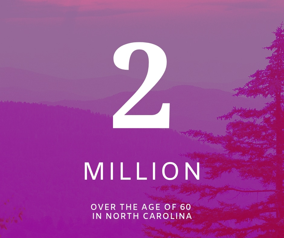 2 Million Over the Age of 60 in NC